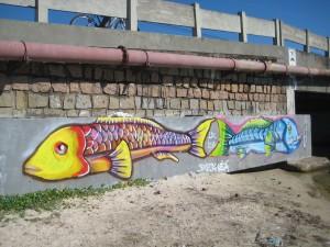More Wild Bridge Graffiti